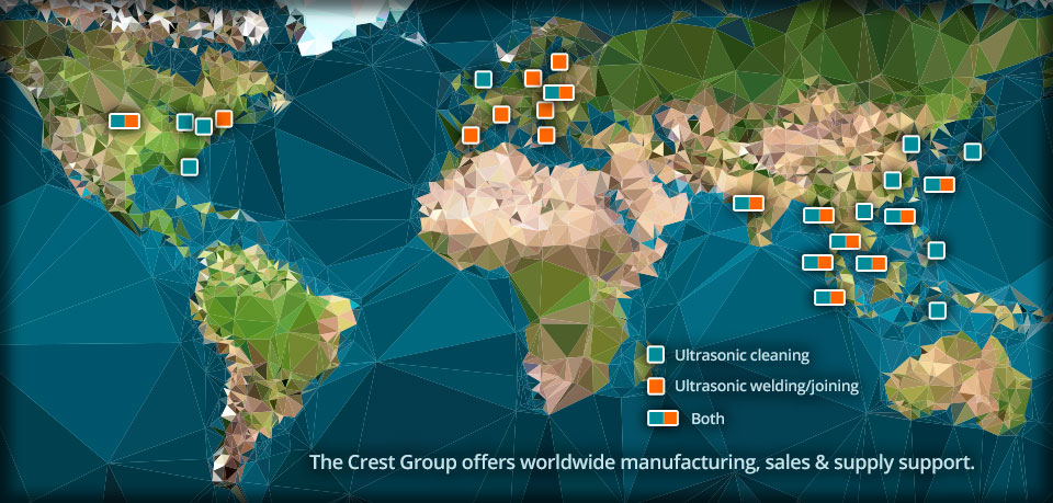 map of the crest group companies