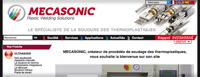 mecasonic website